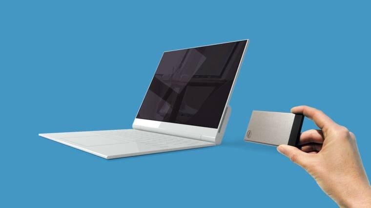 Intel впроцессе CES 2017 презентован модульный ноутбук Nexdock