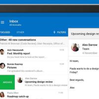В Outlook для Android появилась функция упоминания пользователей