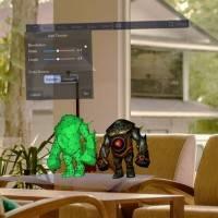 В магазине Windows появилось приложение для 3D-моделирования на HoloLens