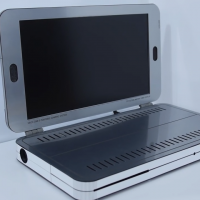 Xbox One S превратили в ноутбук