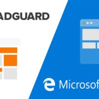 Вышло расширение Adguard для Microsoft Edge