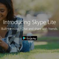 Microsoft представила облегченную версию Skype Lite