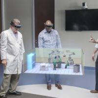 HoloLens используют для проектировки операционных