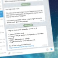 Telegram для Windows получил редактор тем