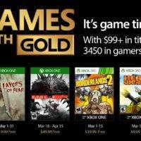 Опубликован мартовский список игр Games With Gold