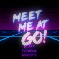 Meet Me At Go! – интерактивный клип-игра