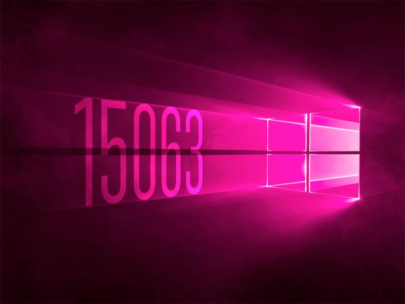 Доступна мобильная RTM сборка Windows 10 Mobile 15063.2