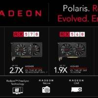 AMD представила новые видеокарты сери RX 500