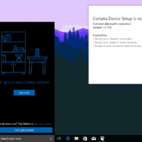 Появились скриншоты приложения-компаньона для устройств с поддержкой Cortana