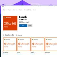 Microsoft начнет продавать подписку Office 365 через Windows Store