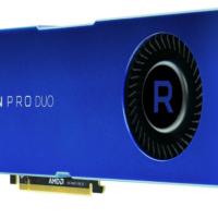 AMD представила новую видеокарту Radeon Pro Duo