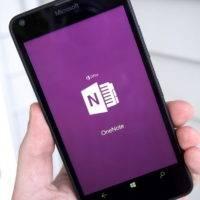 OneNote для Windows Phone 8.1 перестало работать