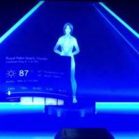 Разработчик создал голографическую версию Cortana