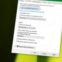 Как включить корректное масштабирование программ в Windows 10