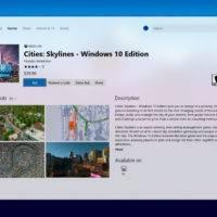 Магазин Windows 10 получил немного нового дизайна