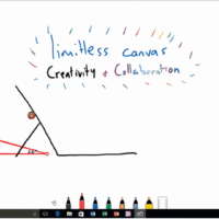 Microsoft готовит приложение Whiteboard для совместного рисования в Windows 10