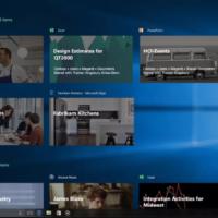 Windows 10 получит функцию Timeline