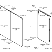Еще один патент Microsoft на сгибаемый телефон-планшет