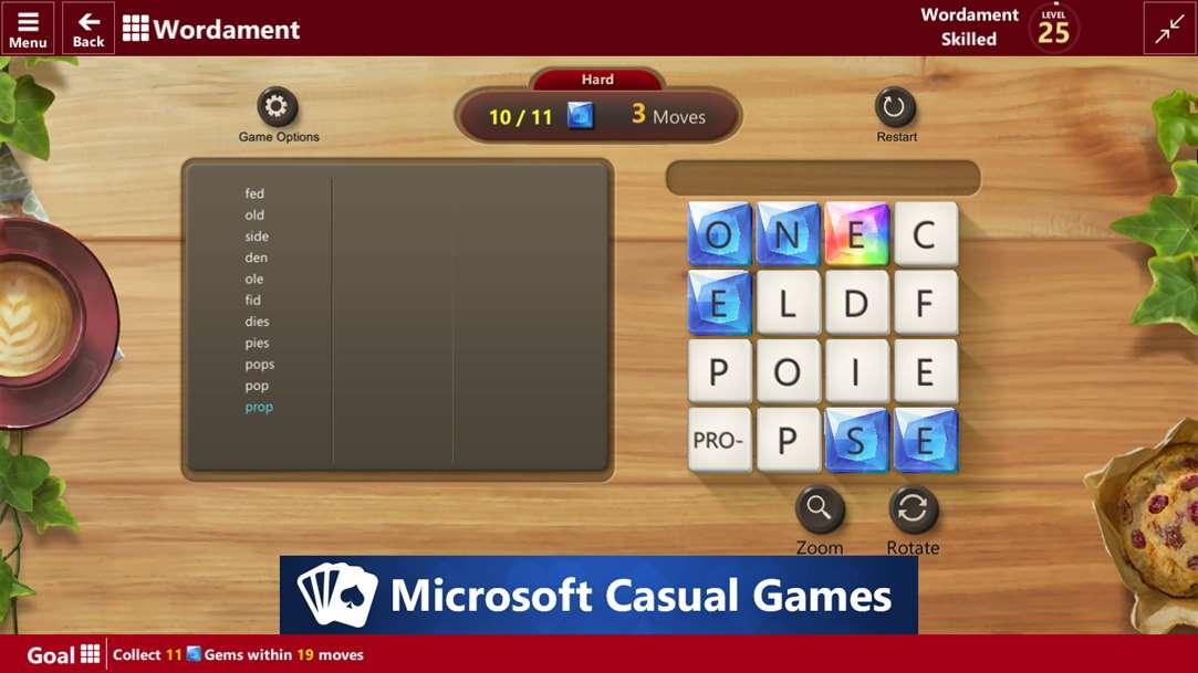microsoft ultimate word games windows 10 mobile