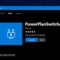 PowerPlanSwitcher возвращает в Windows 10 переключатели режимов энергопитания