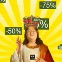 Steam проведет еще одну распродажу в феврале