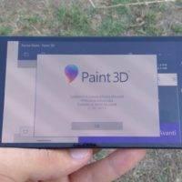 Paint 3D замечено на Windows 10 Mobile