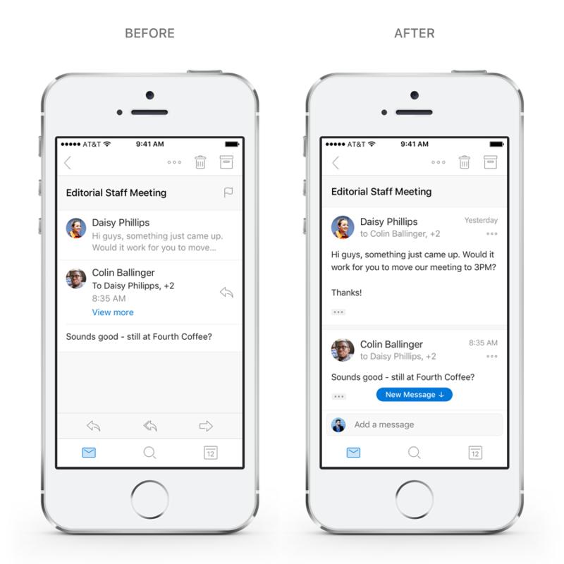 iOS Outlook Update 1