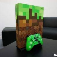Начались предзаказы на Xbox One S Minecraft Limited Edition
