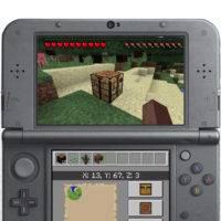 Minecraft вышла на Nintendo 3DS