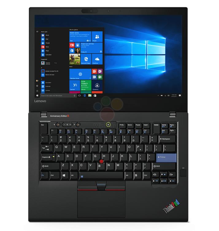 Стали известны характеристики ноутбука Lenovo ThinkPad 25