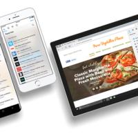 Microsoft Edge получил поддержку iPad