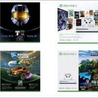 Microsoft представила 4 новых набора Xbox One S