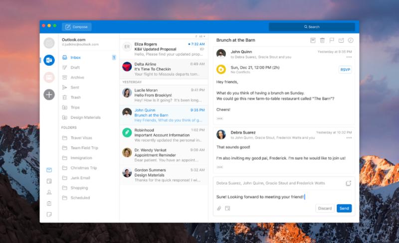 Outlook New Design Mac