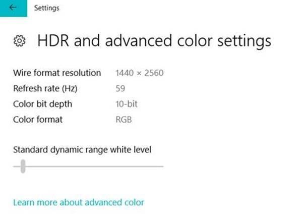 SDR Slided