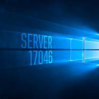 Вышла серверная сборка Windows 10 IP 17046
