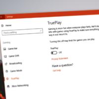 Что такое TruePlay в Windows 10