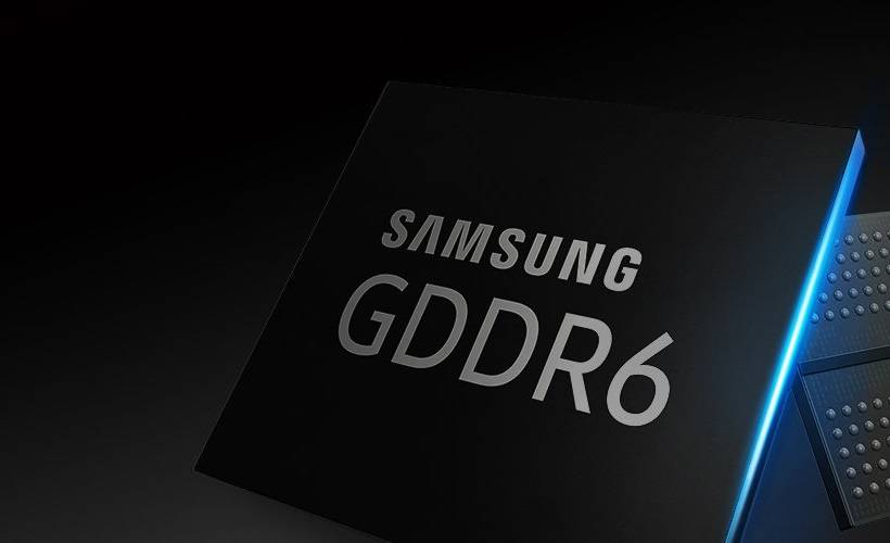 Самсунг начала выпуск памяти GDDR6 плотностью 16 Гбит