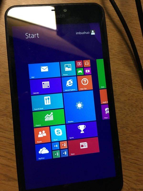 Lumia 640 XL Windows RT