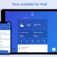 Cortana теперь доступен на iPad