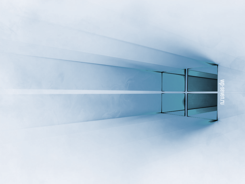 Windows 10 White Blue