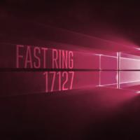Вышла сборка 17127 в Fast Ring