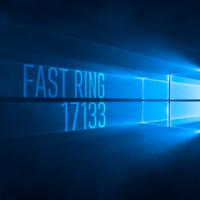 Вышла сборка 17133 в Fast Ring