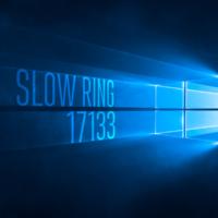 Сборка 17133 доступна в Slow Ring