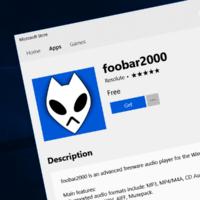 В магазине Microsoft Store появился проигрыватель foobar2000