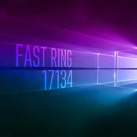 Вышла сборка Windows 10 17134 в Fast Ring
