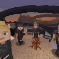 В Minecraft появился скин-пак Final Fantasy XV