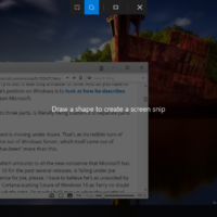 Пользователи нашли способ активировать новую утилиту для скришотов в Redstone 5