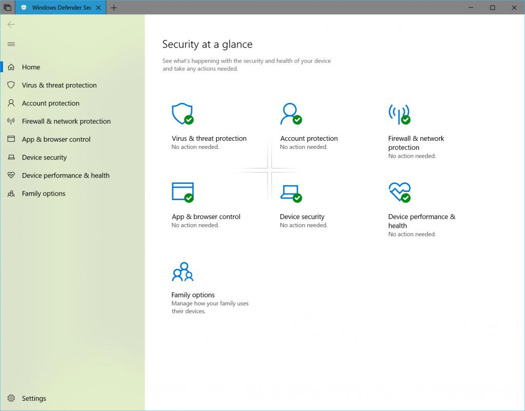 Windows Defende Fluent