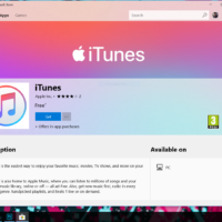 iTunes наконец доступно в Microsoft Store