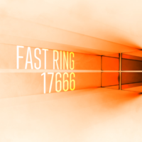 Вышла сборка 17666 в Fast Ring